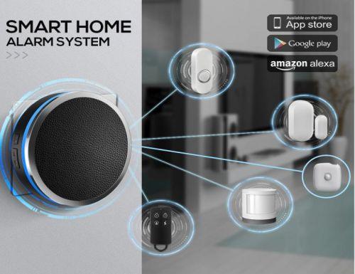 Platinum Smart TUYA WiFi Home Security Alarm System