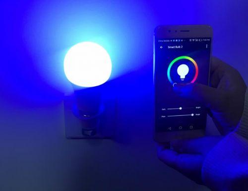Wifi Smart Bulb RGBW Colours