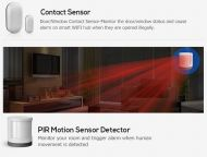 Wireless mini motion sensor