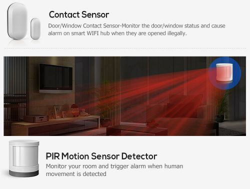 Wireless mini motion sensor